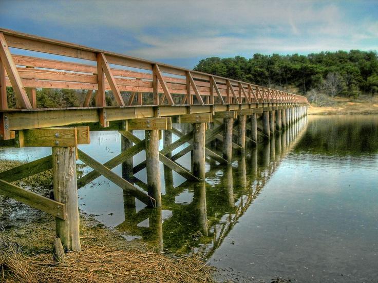 Uncle Tim's Bridge, Wellfleet, Cape Cod. Cape cod, Cape
