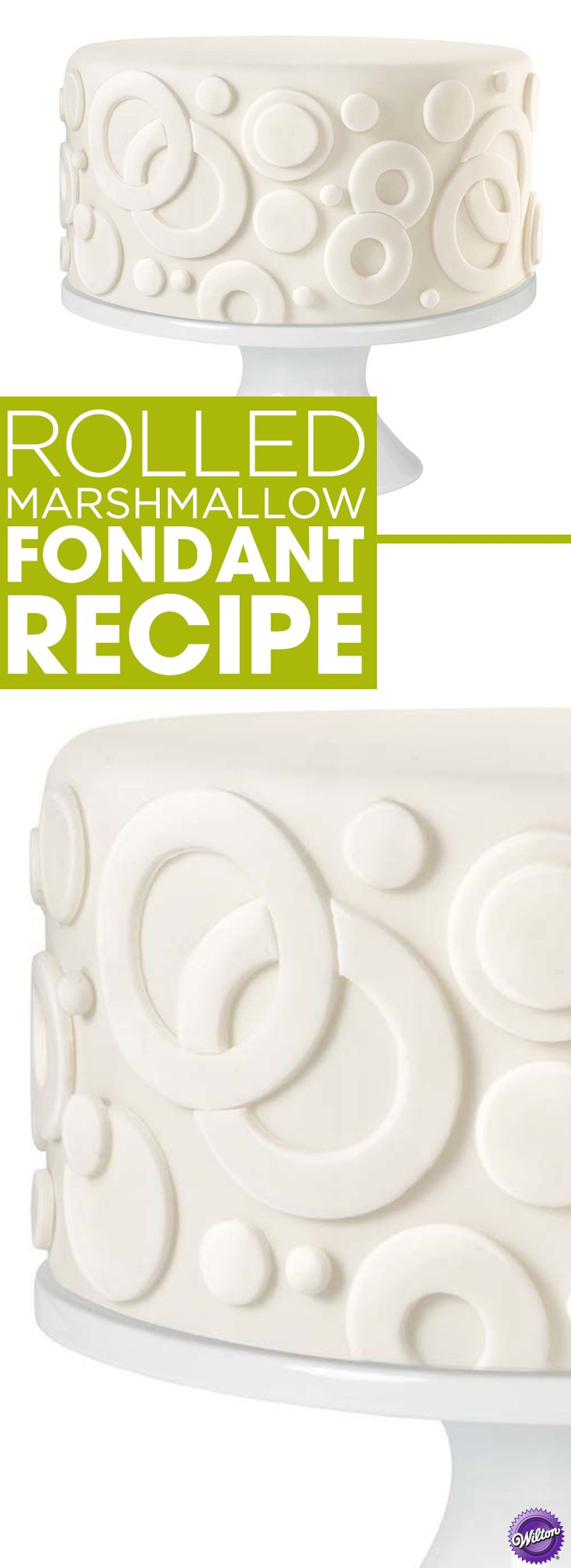 Learn how to make rolled marshmallow fondant. This simple fondant recipe uses ingredients which are probably already in your pantry. It's softer than our standard fondant recipe with a very sweet taste that kids love.