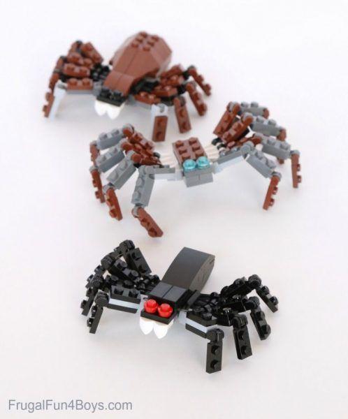 Arañas de LEGO para niños | Fiestas y Cumples
