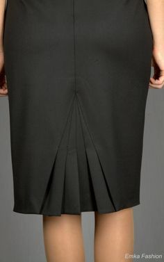 Resultado de imagen para юбка карандаш с воланом сзади