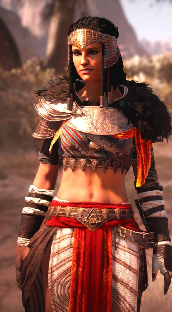 Aya L Amunet Assassin S Creed Assassins Creed Pathfinder Character