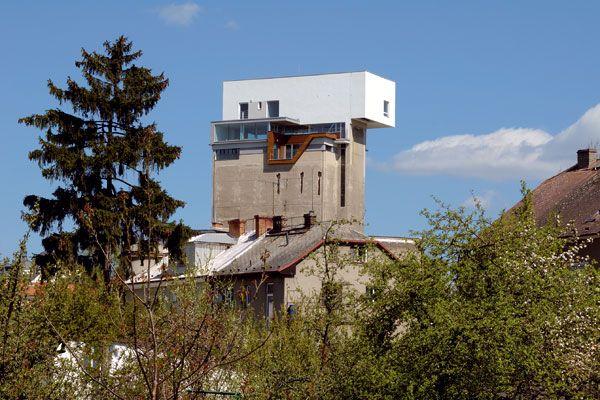 Byt na vodárenskej veži, v centre, mimo mestského ruchu #loft #industrial