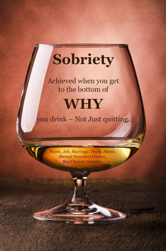 #Sobriety achieved when you get to the bottom of why you drink - Not just #Quitting! #TopicTuesday  For help call 855-658-0035