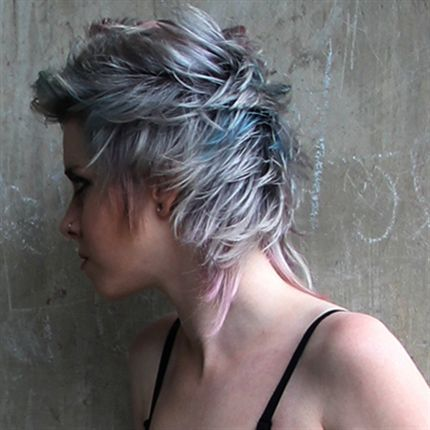 Calm Before The Storm - Silver & Grey tone hair color formulas from Pravana Vivids.