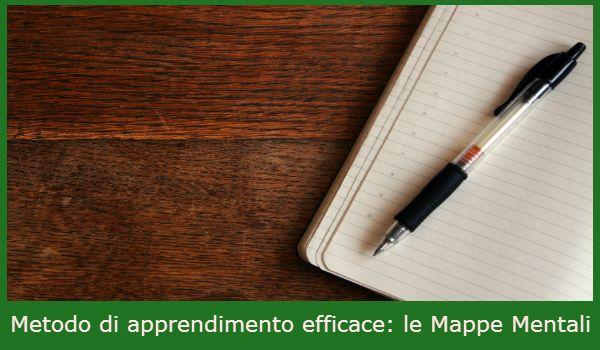 Metodo di apprendimento efficace: le Mappe Mentali