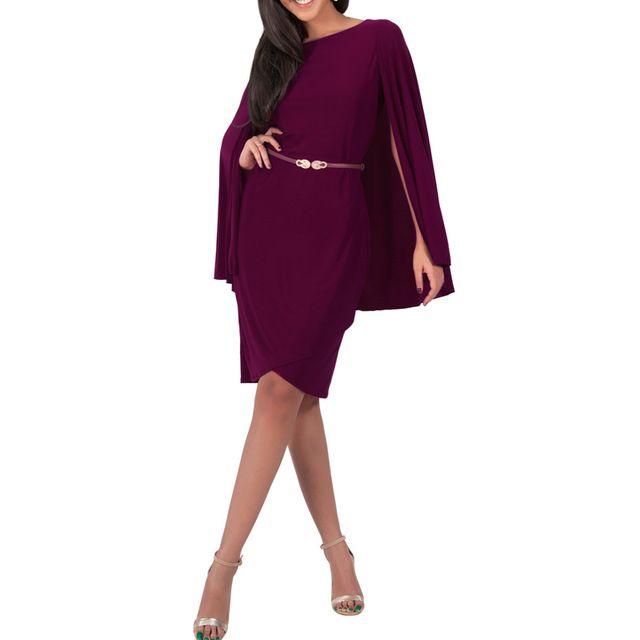 Элегантный вино женщины летнее платье с мыса плиссированные Bodycon бинты ну вечеринку платья эластичный дамы Vestidos клубные наряды