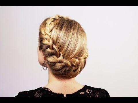 Прическа в греческом стиле. Greek Hairstyle - YouTube