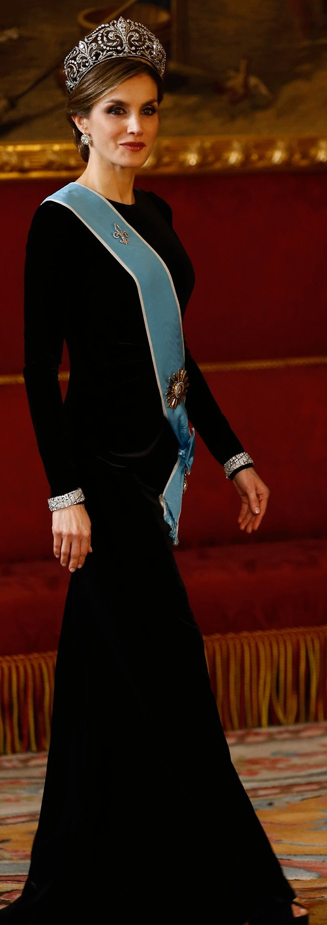 Queen Letizia of Spain                    February 22-23: State Visit from Argentina