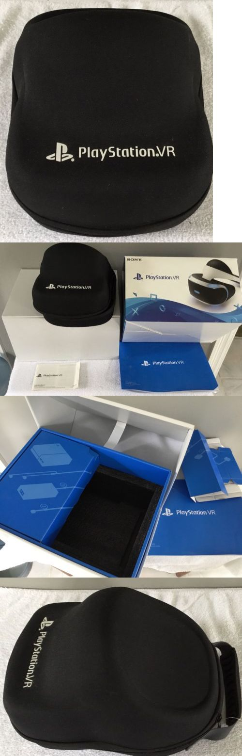 PC and Console VR Headsets: Sony Ps4 Vr Storage Case With Original Vr Box And Packaging + Manuals -> BUY IT NOW ONLY: $38 on eBay!