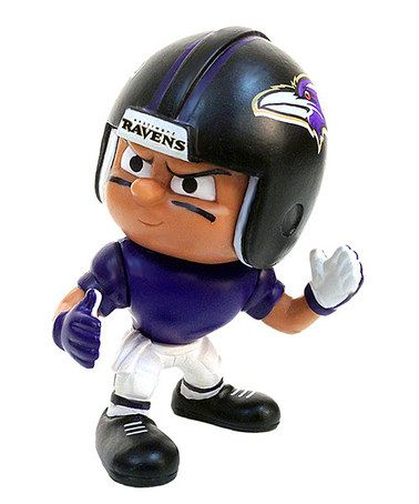 Loving this Baltimore Ravens Lil' Teammate Wide Receiver Figurine