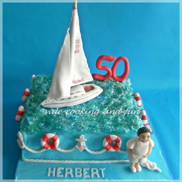 Cooking & Fun by Valentina: Segel Torte/Торта с ветроходна яхта