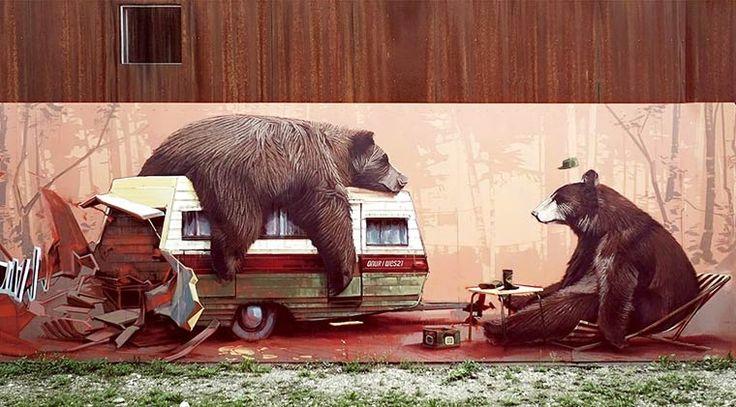 Street Art – Les superbes créations de Wes21