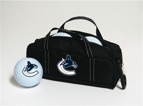 Vancouver Canucks Mini Hockey Bag With Golf Balls By Stick Putter Buy It