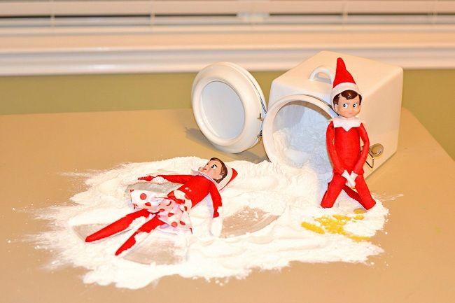 Hilarious Elf parenting holidays christmas  9 Awesome Elf on the Shelf Ideas