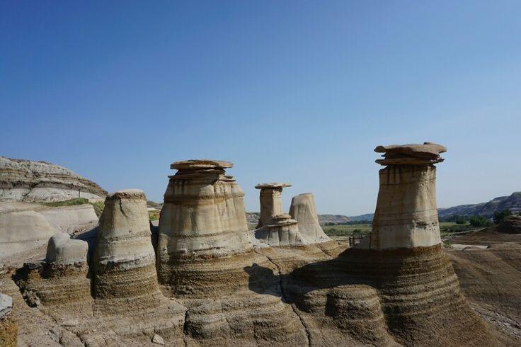 Hoodoo, Alberta. #Drumheller #badlands #banff #Calgary #Canada