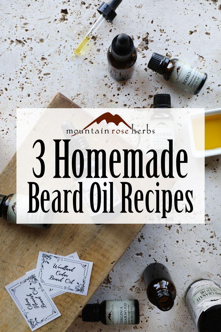 3 diy beard oil recipes how to use them recipe beard