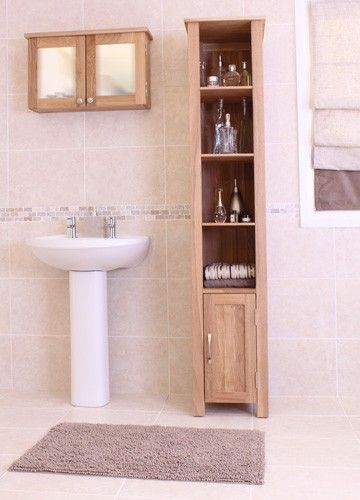 This Mobel Oak Open Bathroom Unit Tall is a part of Mobel and a great Bathroom Cabinet.  The dimension of this Mobel Oak Open Bathroom Unit Tall are as follows - the height is 180CM, the width is 36.5CM the depth is 36.5CM and the volume of this Mobel Oak Open Bathroom Unit Tall is 0.24CBM.  The International Article Number or EAN number is 5060164710561 and the weight is 31.00kg.  This Mobel Oak Open Bathroom Unit Tall is an authentic Baumhaus product and Bonsoni is proud to be an official…