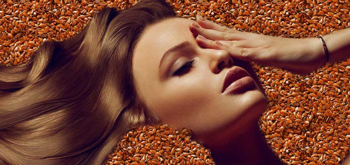 Flaxseeds due to their high inflammatory index helps minimize skin irritation, redness and inflammation of any sort.