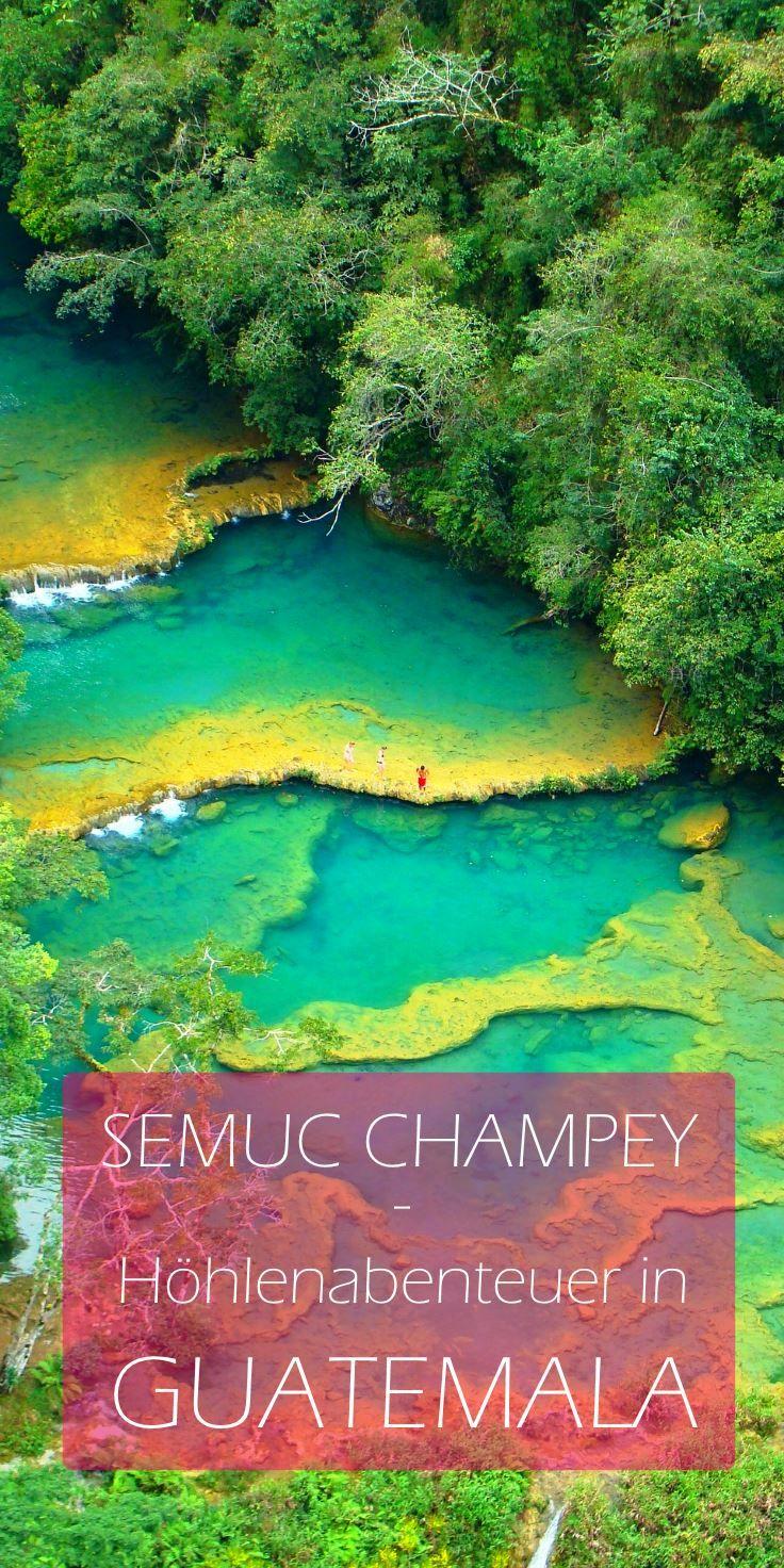 Die unheiligen Hölen von Semuc Champey - ein einmaliges Abenteuer in Guatemala. Hier geht's zum Bericht!