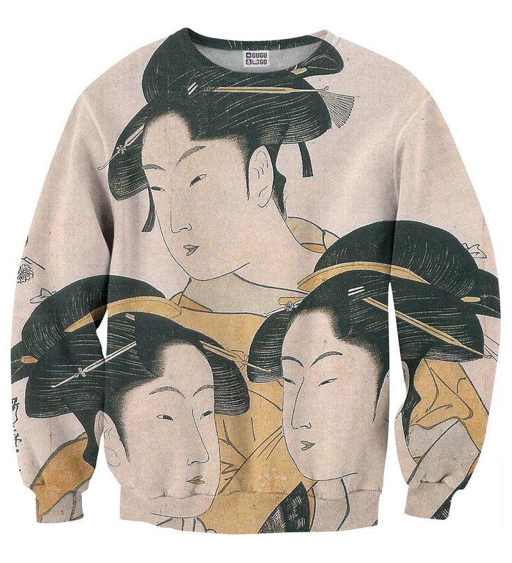 Japanese Girl sweater, Mr. GUGU & Miss GO
