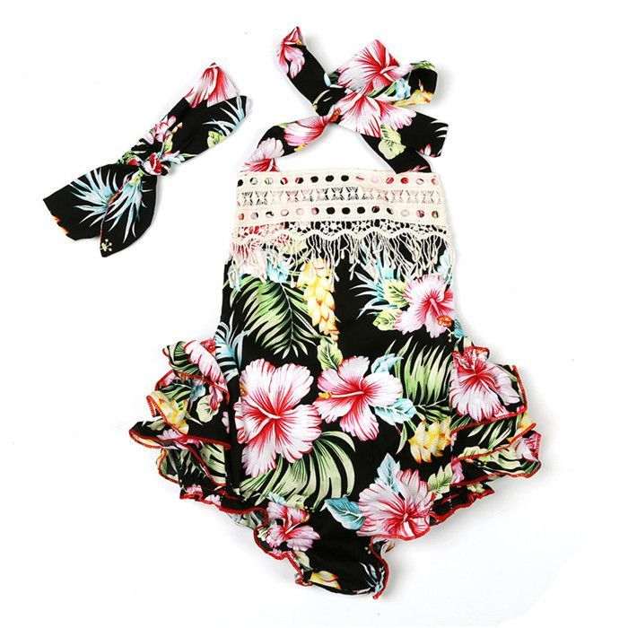 2017 Dewdrop Ruffled Romper Collection