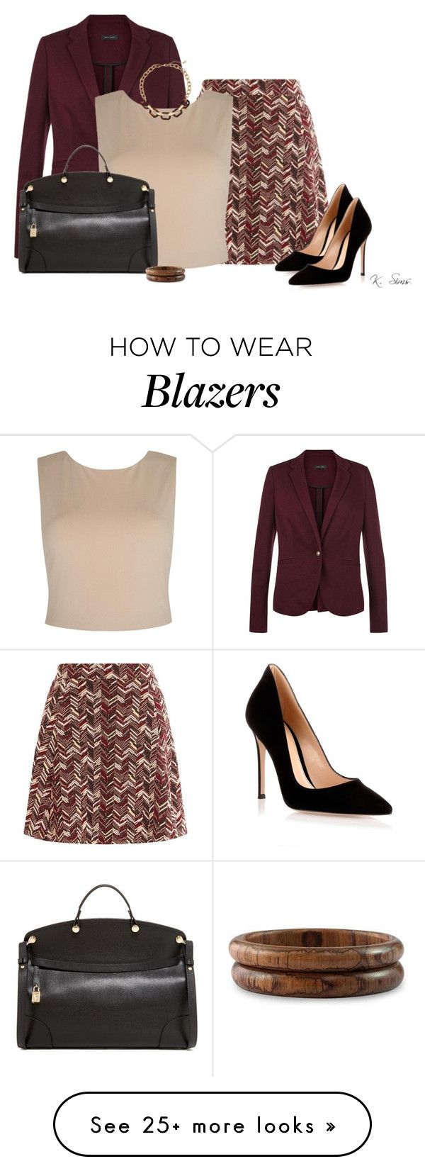 """""""Almost Friday"""" by ksims-1 on Polyvore featuring Alice + Olivia, Gianvito Rossi, Furla, NOVICA and Lauren Ralph Lauren"""