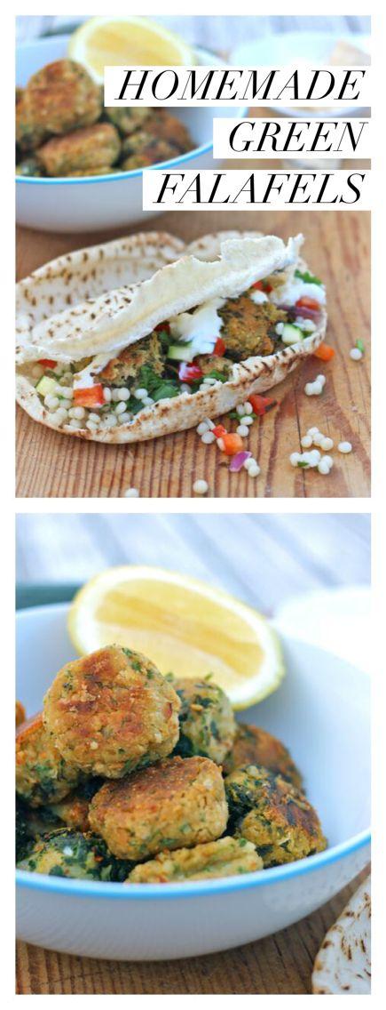 Homemade Green Falafels recipe