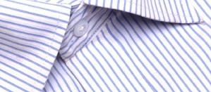 Half sleeve formal shirt with pale sky blue stripes and a front pocket. A refreshing pattern with a hint of corporate flair. Specially designed to keep you looking cool and confident, this shirt is ideal for those long hours at work.     Style with:  Dark blue or beige trousers for maximum style.