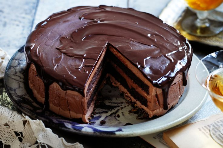 With seven luscious layers of chocolate and mousse, this is an Italian dessert masterpiece.