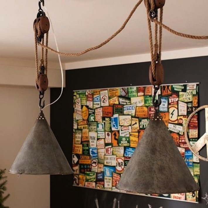 The Rustic Sailor Pulley Pendant Light Wooden Pulley By: 1000+ Images About Pulley Purposes On Pinterest
