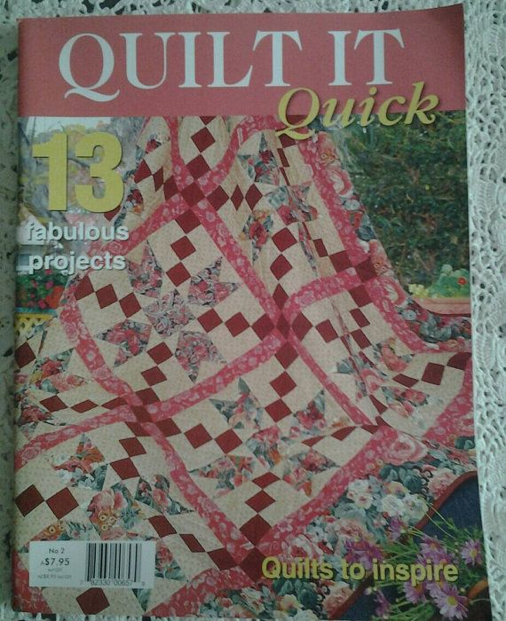 Check out this item in my Etsy shop https://www.etsy.com/au/listing/259989649/quilt-it-quick-australian-quilting