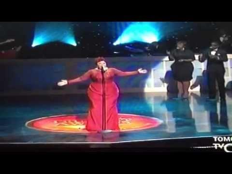 """Tamela Mann singing """"Take Me to the King"""" @ Trumpet Award"""