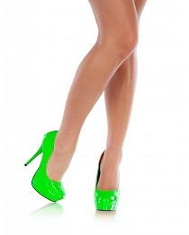 Limited Neon Pumps Green