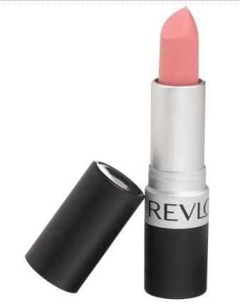 "Revlon Lipstick in ""Pink Pout"". Another one of my favorite drugstore lipsticks. & its MATTE!!"