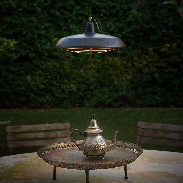 Energooszczędna lampa wisząca LED Plec, IP44 3507186