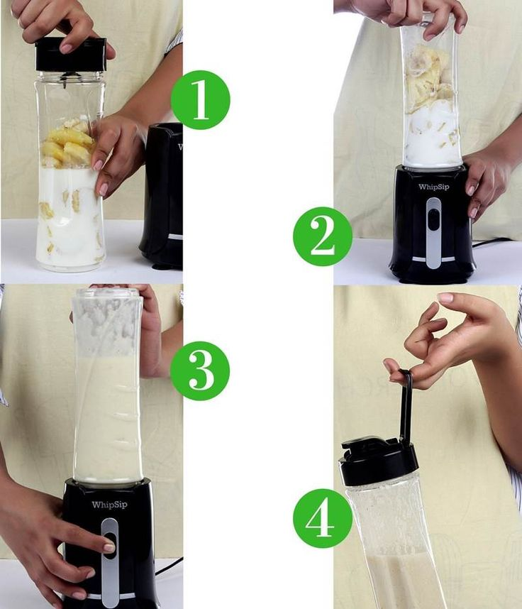 Whipsip Personal Nutri Blender for Smoothie and Protein Shake Maker : 6 Best Nutri Blender for Juice Smoothie and Protein Shake