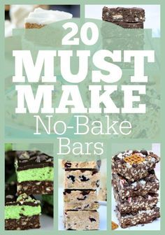 20 Must Make No-Bake Bars | Simply Sherryl