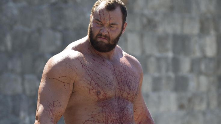He might have found fame as the brutal Gregor 'The Mountain' Clegane on Game Of Thrones. But actor and strongman Hafþór Júlíus Björnsson hasn't always been quite as muscular as he is now – as this photo of himself as a 17-year-old proves.