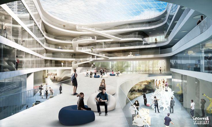 Duale Hochschule Stuttgart. Germany. 3XN Architects 2013