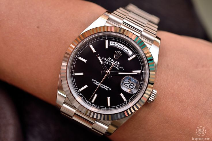 Rolex Oyster Perpetual Day Date White Gold