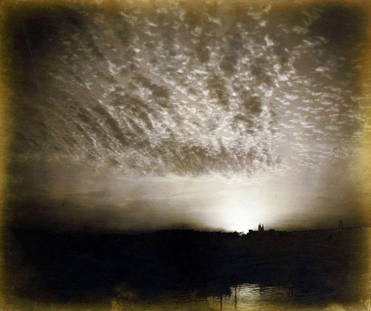 'The Day is Done, and the Darkness Falls from the Wings of Night', - Colonel Henry Stuart Wortley (1832 – 1890), albumen silver print, 1862