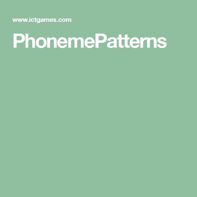 PhonemePatterns