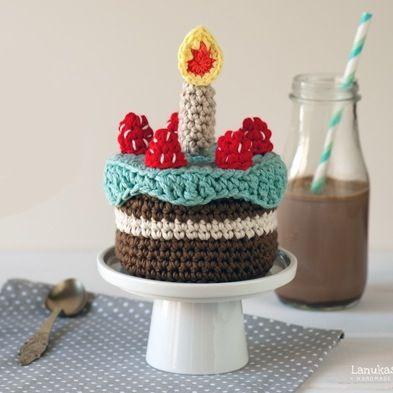 Patrón Pastel de cumpleaños