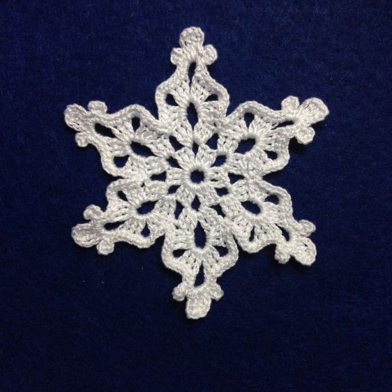 Make a Crocheted Snowflake | Guidecentral