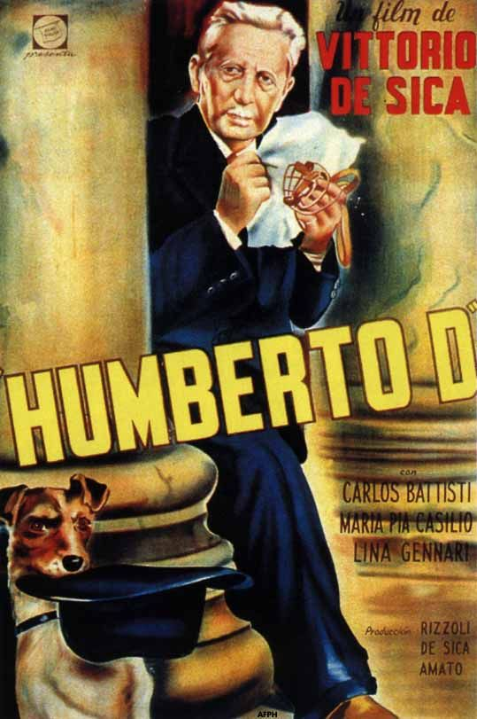 Umberto D. (1952) - realism does not have to be boring. Love the little dog...