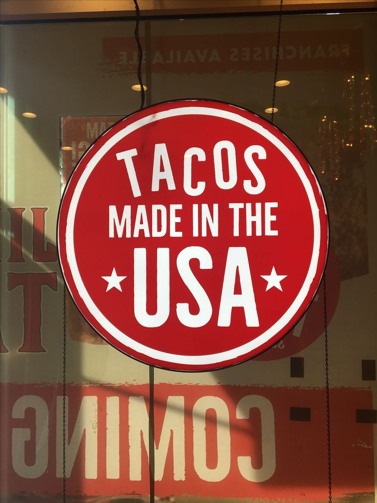 Jimboy's Tacos are made in the USA with pride!!