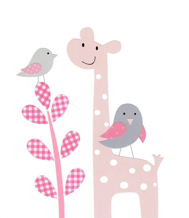Nursery Art Decor Baby Girl Kids Wall Art Bird by vtdesigns, $14.00