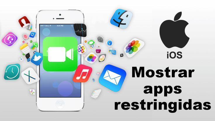 Si tu iPhone o iPad no muestra alguna de las apps predeterminadas ✅ y no las has desinstalado puede que esté oculta debido a la restricción de iOS. Conoce como volver a mostrarlas. #iPhone #iPad #iOS #iPad downloadsource.es