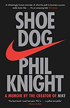 Phil Knight is a great writer and has a great story to tell. Very inspirational and doesn't paint the path to success as being easy. Quite the opposite.