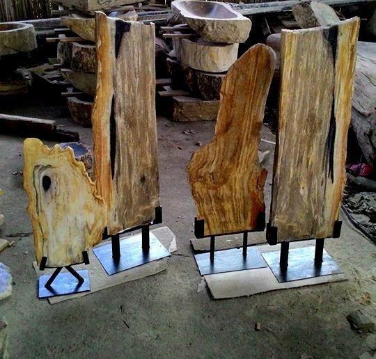 IndoGemstone Petrified Wood Art Craft.  IndoGemstone has the largest collection of interior design and decorating with petrified wood ideas.